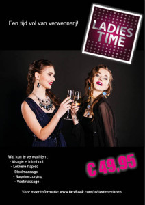 Ladies Time Vianen op 1 april